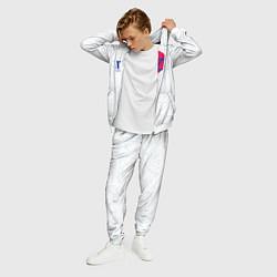 Костюм мужской Тима Белорусских: Кроссы цвета 3D-белый — фото 2