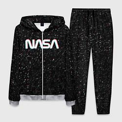 Костюм мужской NASA: Space Glitch цвета 3D-меланж — фото 1