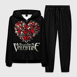 Костюм мужской Bullet For My Valentine: Temper Temper цвета 3D-черный — фото 1