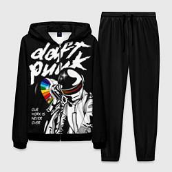 Костюм мужской Daft Punk: Our work is never over цвета 3D-черный — фото 1