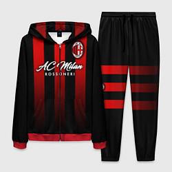 Костюм мужской AC Milan цвета 3D-красный — фото 1
