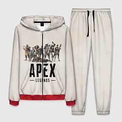 Костюм мужской Apex Legends: Warriors цвета 3D-красный — фото 1