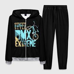 Костюм мужской BMX Extreme цвета 3D-меланж — фото 1