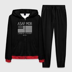 Костюм мужской ASAP MOB цвета 3D-красный — фото 1