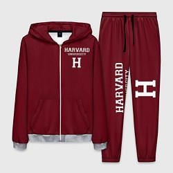 Костюм мужской Harvard University цвета 3D-меланж — фото 1
