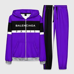 Костюм мужской Balenciaga: Violet Fashion цвета 3D-меланж — фото 1