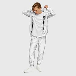 Костюм мужской ASAP Rocky: White Fashion цвета 3D-белый — фото 2