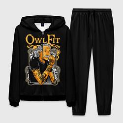 Костюм мужской Owl Fit цвета 3D-черный — фото 1
