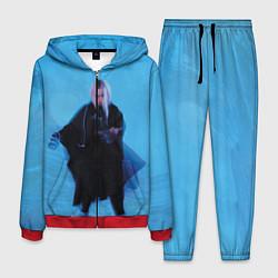 Костюм мужской Billie Eilish: Blue Fashion цвета 3D-красный — фото 1