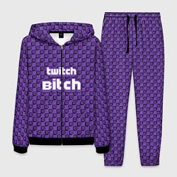 Костюм мужской Twitch Bitch цвета 3D-черный — фото 1