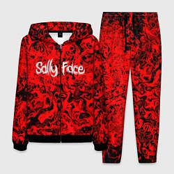 Костюм мужской Sally Face: Red Bloody цвета 3D-черный — фото 1