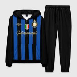 Костюм мужской Internazionale Milano цвета 3D-черный — фото 1
