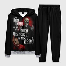 Костюм мужской Slipknot: This Song цвета 3D-меланж — фото 1