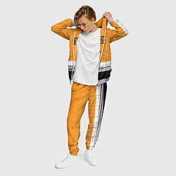 Костюм мужской Muse: Orange Mood цвета 3D-меланж — фото 2