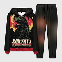 Костюм мужской Flame Godzilla цвета 3D-красный — фото 1
