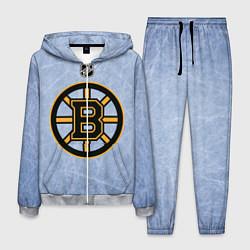 Костюм мужской Boston Bruins: Hot Ice цвета 3D-меланж — фото 1