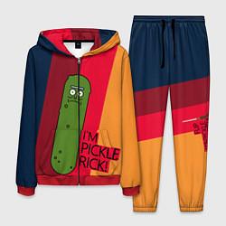 Костюм мужской Pickle Rick цвета 3D-красный — фото 1