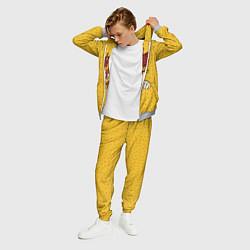 Костюм мужской GONE Fludd - FIGHT цвета 3D-меланж — фото 2