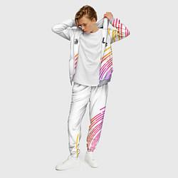 Костюм мужской LIKEE цвета 3D-меланж — фото 2