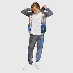 Костюм мужской Антуан Гризманн цвета 3D-меланж — фото 2