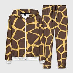 Костюм мужской Окрас жирафа цвета 3D-белый — фото 1