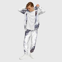 Костюм мужской Тима Белорусских чб цвета 3D-меланж — фото 2