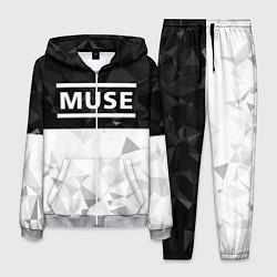 Костюм мужской Muse цвета 3D-меланж — фото 1