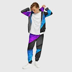 Костюм мужской Bona Fide Одежда для фитнеcа цвета 3D-белый — фото 2