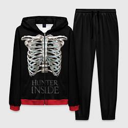 Костюм мужской Supernatural Hunter Inside цвета 3D-красный — фото 1