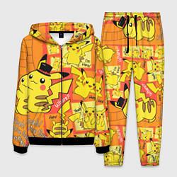 Костюм мужской Pikachu цвета 3D-черный — фото 1