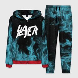 Костюм мужской Slayer цвета 3D-красный — фото 1