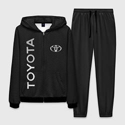 Костюм мужской Toyota CARBON цвета 3D-черный — фото 1