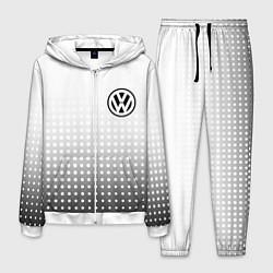 Костюм мужской Volkswagen цвета 3D-белый — фото 1