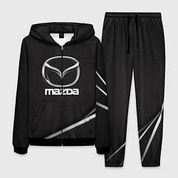 Костюм мужской MAZDA цвета 3D-черный — фото 1