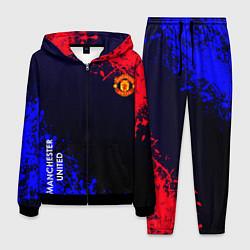 Костюм мужской Manchester United цвета 3D-черный — фото 1