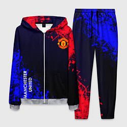Костюм мужской Manchester United цвета 3D-меланж — фото 1