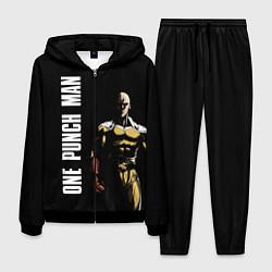 Костюм мужской One Punch Man цвета 3D-черный — фото 1