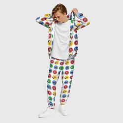 Костюм мужской Эмоции Микки Мауса цвета 3D-меланж — фото 2