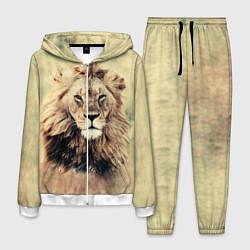 Костюм мужской Lion King цвета 3D-белый — фото 1