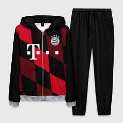 Костюм мужской ФК Бавария Мюнхен цвета 3D-меланж — фото 1