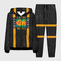 Костюм мужской Gachi Gucci цвета 3D-черный — фото 1