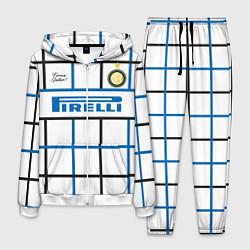 Костюм мужской INTER выездная 2021 цвета 3D-белый — фото 1