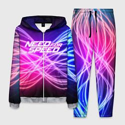 Костюм мужской NFS NEED FOR SPEED S цвета 3D-меланж — фото 1