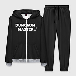 Костюм мужской Dungeon Master цвета 3D-меланж — фото 1
