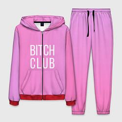 Костюм мужской Bitch club цвета 3D-красный — фото 1