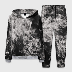 Костюм мужской Fire and Smoke цвета 3D-меланж — фото 1