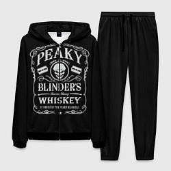 Костюм мужской Острые Козырьки Whiskey цвета 3D-черный — фото 1