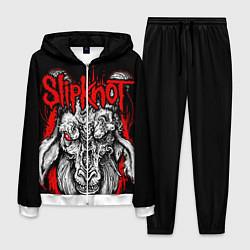 Костюм мужской Slipknot цвета 3D-белый — фото 1