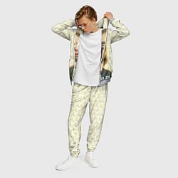Костюм мужской Кобейн с пистолетом цвета 3D-меланж — фото 2