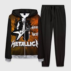 Костюм мужской Metallica: James Hetfield цвета 3D-меланж — фото 1